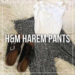 H&M Harem Pants | M